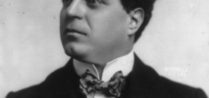 Il compositore Pietro Mascagni