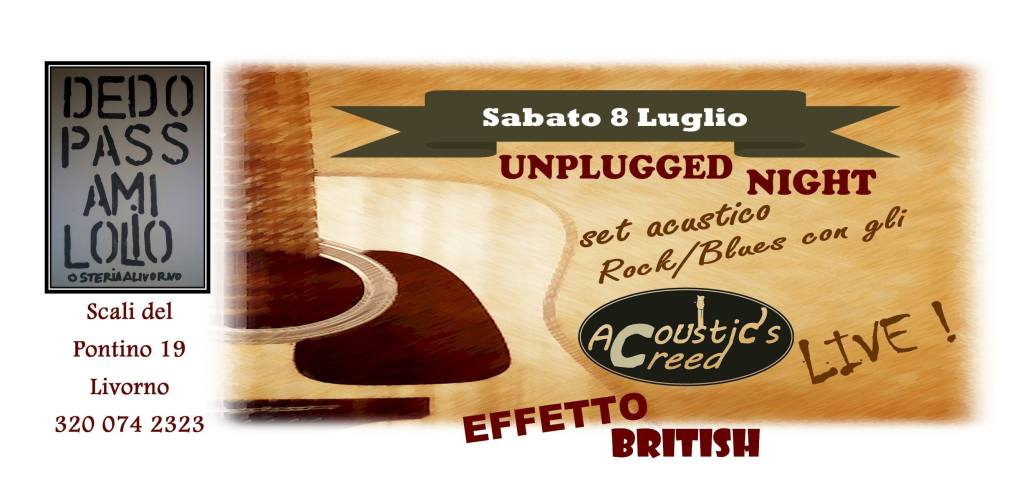 Acoustic's Creed - Cliccalivorno