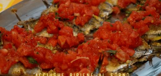 Alici ripiene al forno con pecorino e lardo di colonnata ilboccatv CliccaLivorno