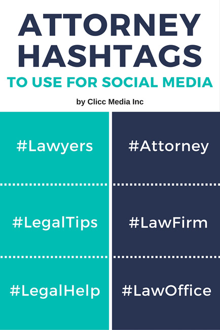 attorney hashtags to use on your social media