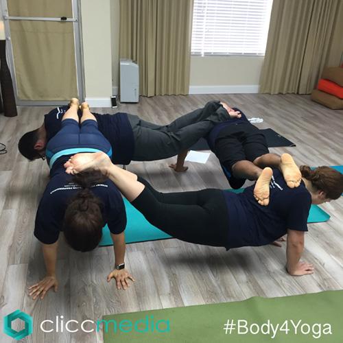 clicc media yoga planking