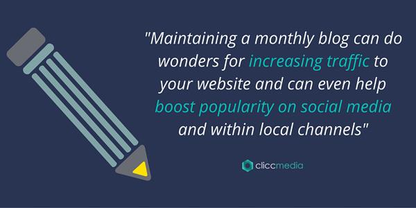 blogging can improve website traffic