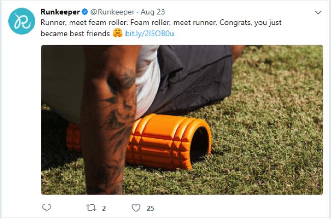 runkeeper-app-tweet