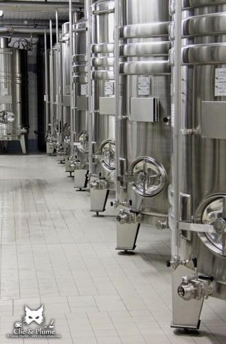 Cuverie - Champagne Renard-Barnier / © Carine Charlier / www.clic-et-plume.com