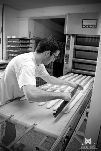 Boulanger au travail