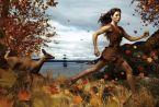 Jessica Biel en Pocahontas