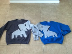 His and Hers Elephant Sweatshirts