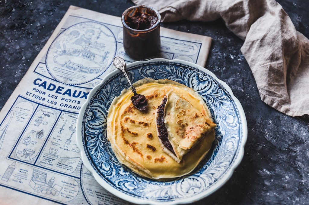 crepe sucree-chandeleur-vintage-recette