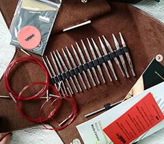 ADDI CLICK LAC - набор спиц для вязания