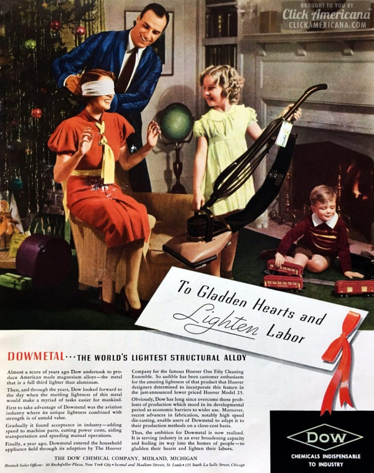 1937 Vacuum cleaner for Christmas