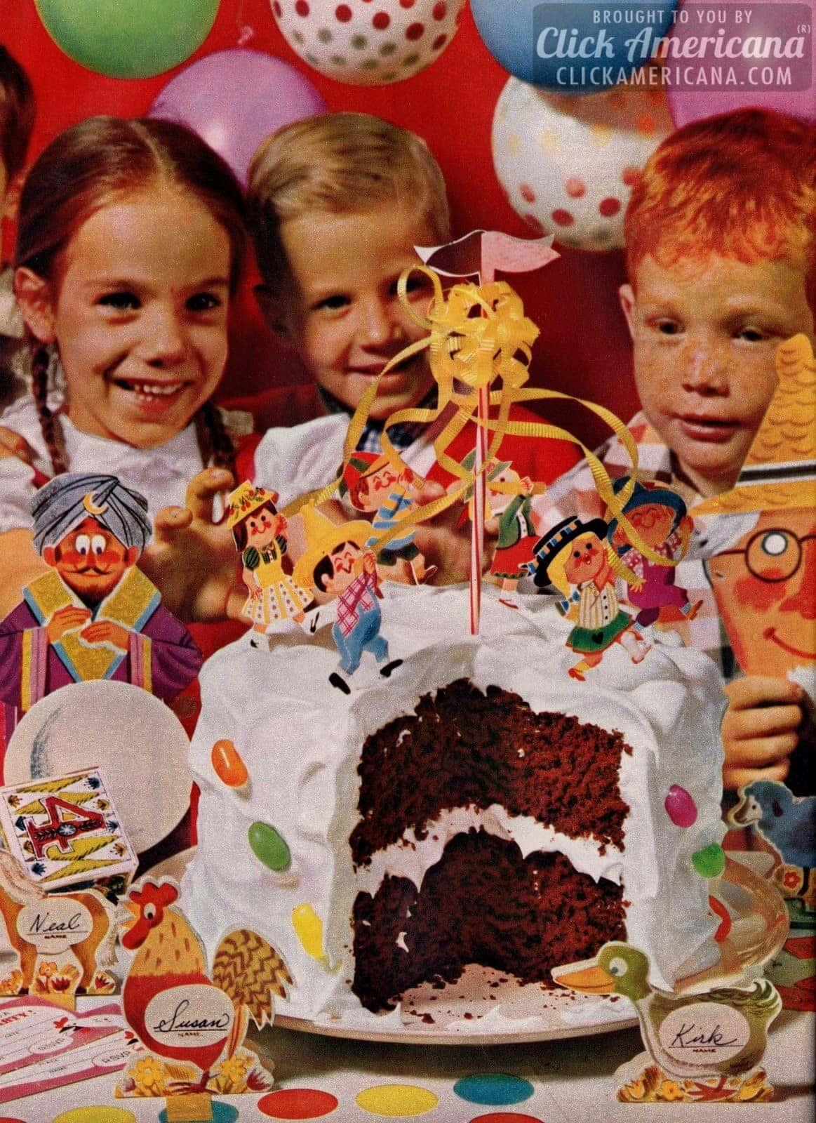 Make A County Fair Party Cake 1962 Click Americana