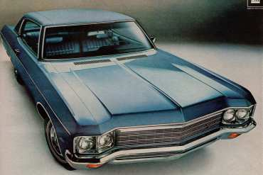 1970 If the competition had Impala's high resale value, maybe they'd be No 1
