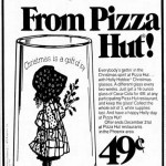 Happy Holly-Days! From Pizza Hut (1976)