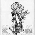 See Holly Hobbie and friends at Westland Mall, Detroit (1982)