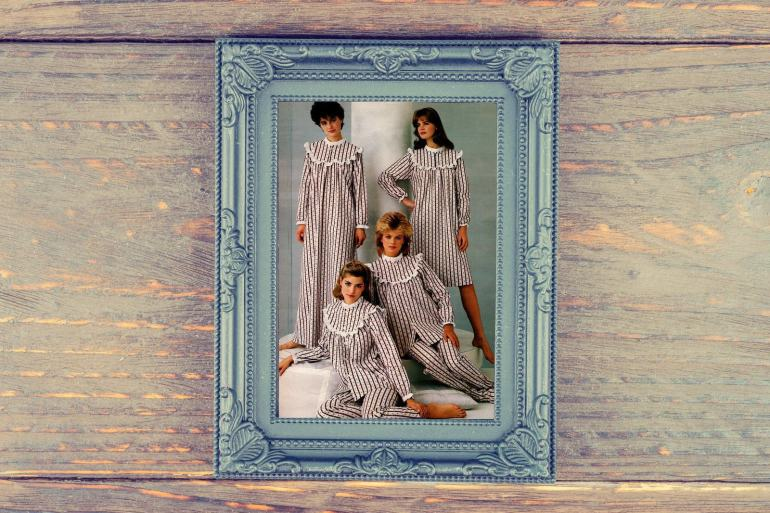 1983 Flannel nightgowns and pajamas