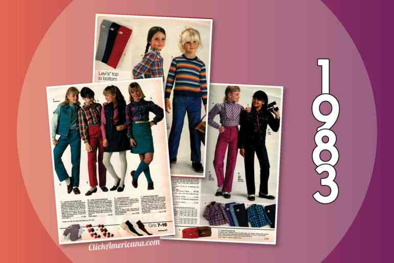 1983 catalog - Clothes for girls from JCPenney