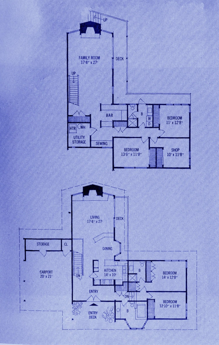 A mid-century modern home design and decor 1965 (4)