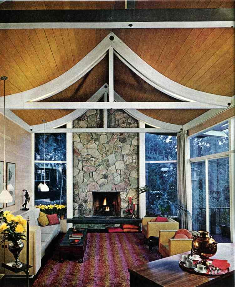 A mid-century modern home design and decor 1965 (6)