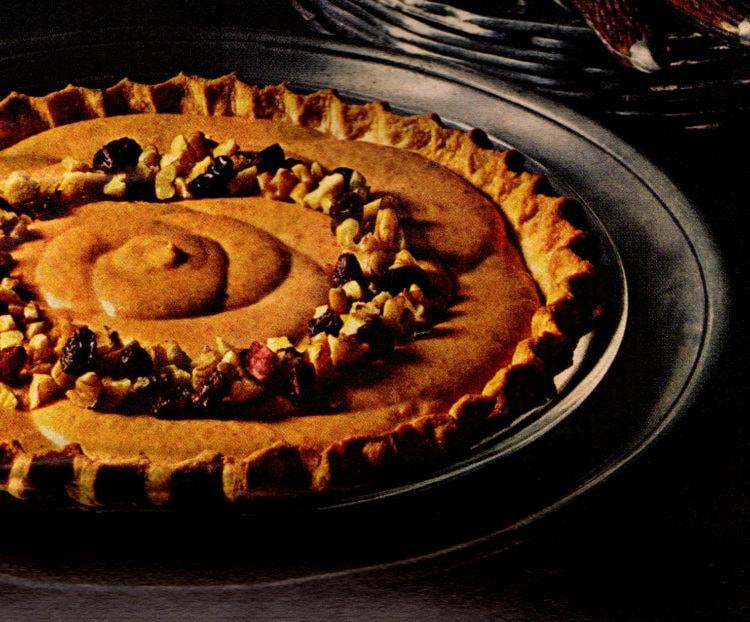 Light, creamy and fluffy pumpkin pies