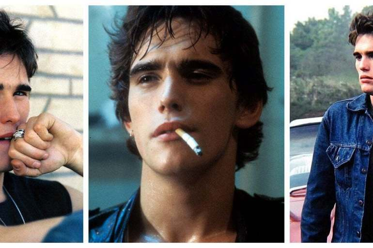 Actor Matt Dillon in the 80s