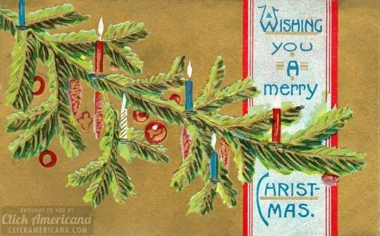 A short story called Christmas at Red Butte by Lucy Maud Montgomery, at Click Americana