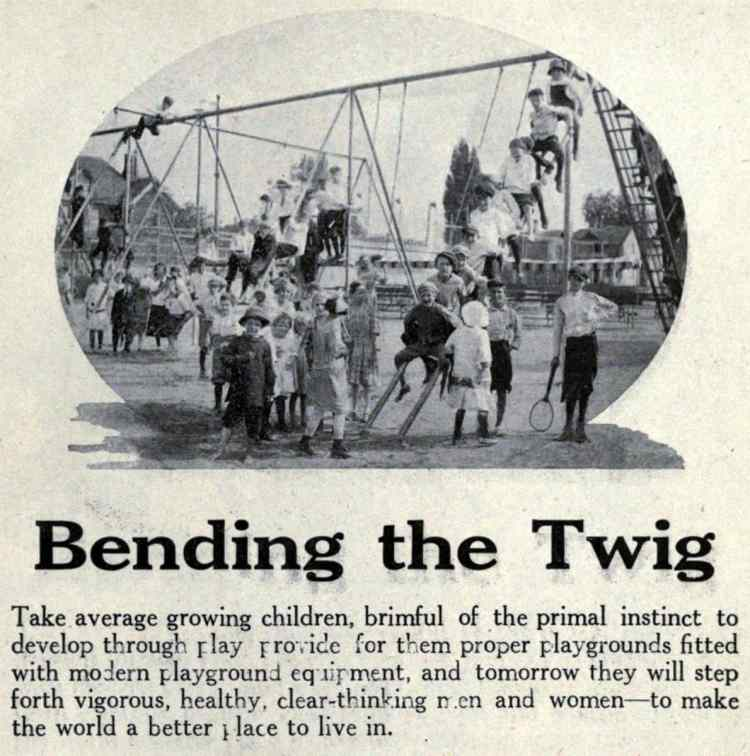47 Dangerous Old Playgrounds That Our Great Grandparents