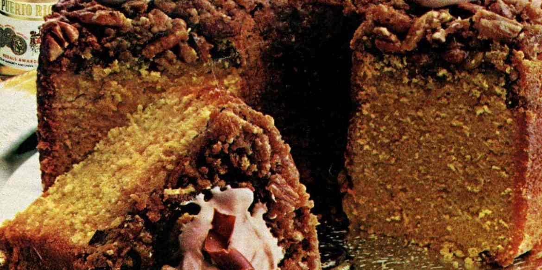 Bacardi rum cake recipe from 1982