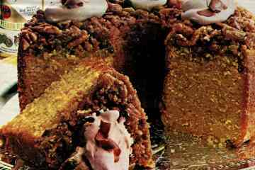 Bacardi rum cake recipe from 1982