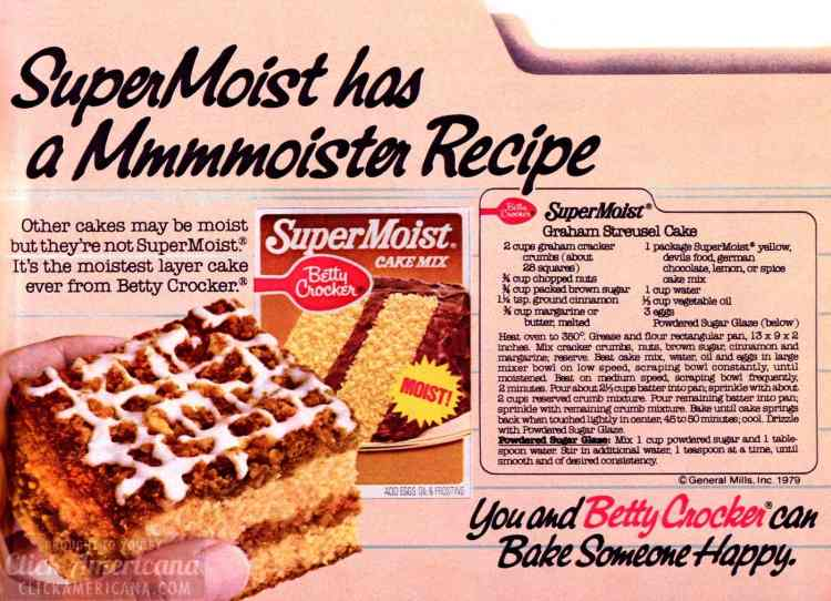 Bake someone happy with this sensational Graham streusel cake from the seventies