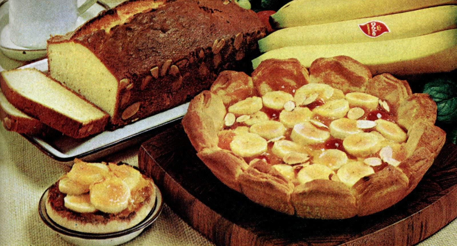 Go bananas! Danish Delight & Jamaican Pound Cake (1972) - Click ...