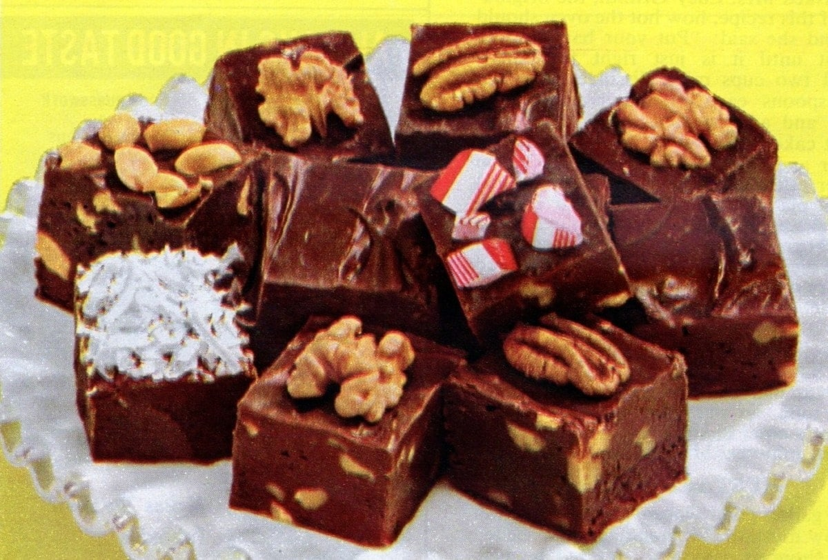 Can't fail 5-minute fudge recipe (1961)