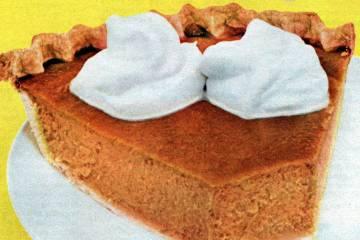 Carnation's famous pumpkin pie The classic '50s Thanksgiving dessert