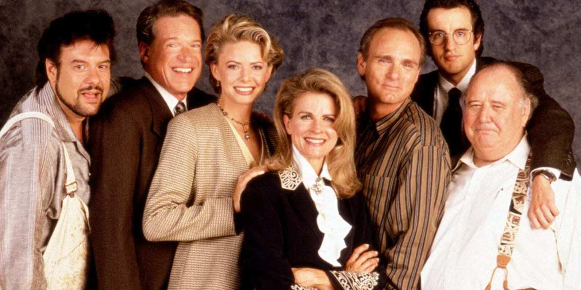 The cast of Murphy Brown 1988