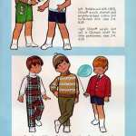 Vintage clothing for little boys - ski sweaters, overalls, eton suits