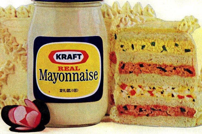 Celebration sandwich loaf recipe with mayo 1973