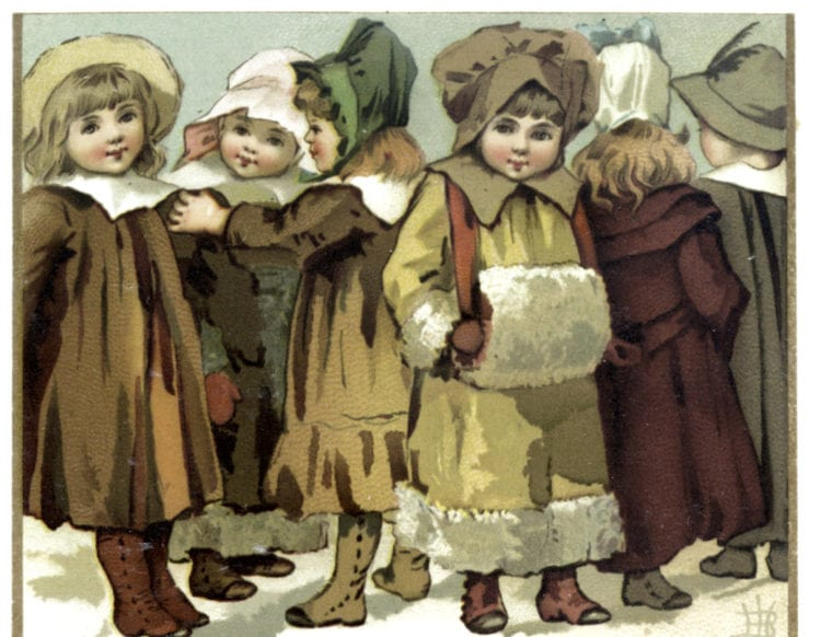 Children - Victorian Christmas 1890s (1)