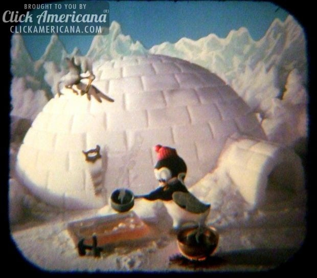 Chilly Willy's Igloo-viewmaster reel