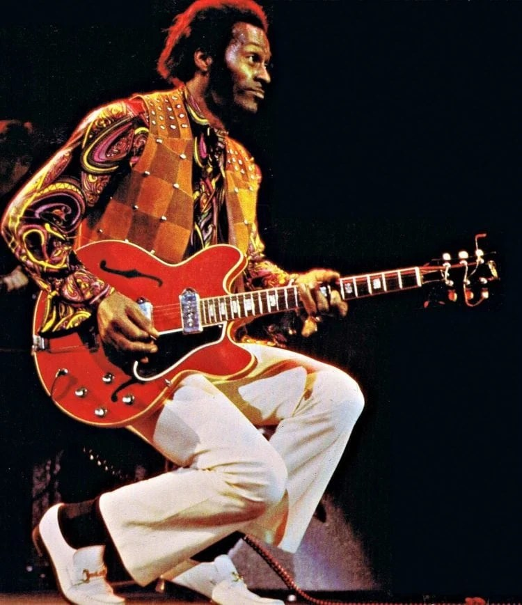 Chuck Berry in the 70s