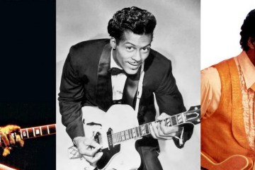 Chuck Berry, the real daddy of rock 'n' roll