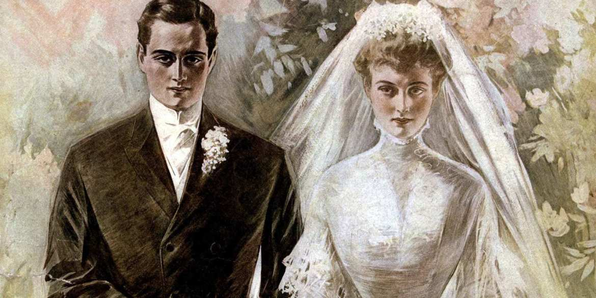 The Most Beautiful Vintage Wedding Dresses From The Early