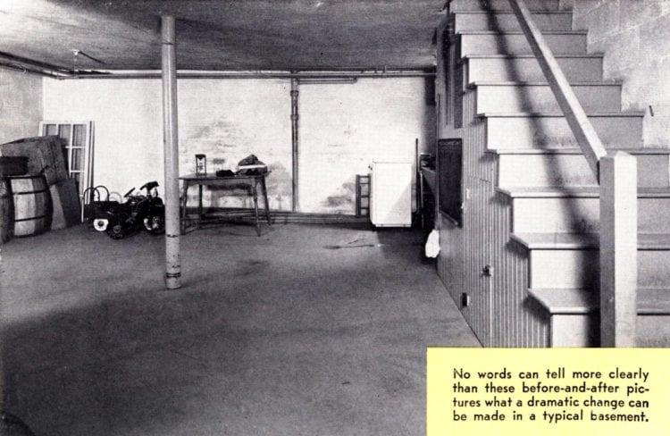 Colorful vintage basement remodels 1940s 1950s (3)