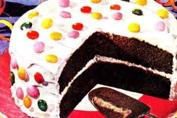 How to make a polka-dot confetti cake (1949)