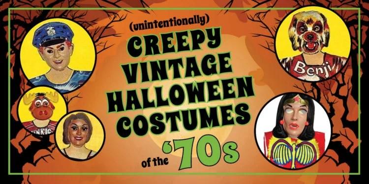 Creepy 70s Halloween costumes