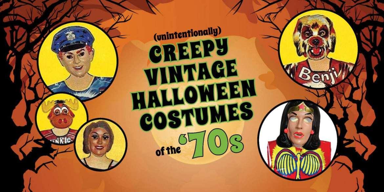 Creepy 70s Halloween costumes based on TV shows