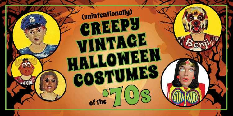 Creepy 70s Halloween costumes