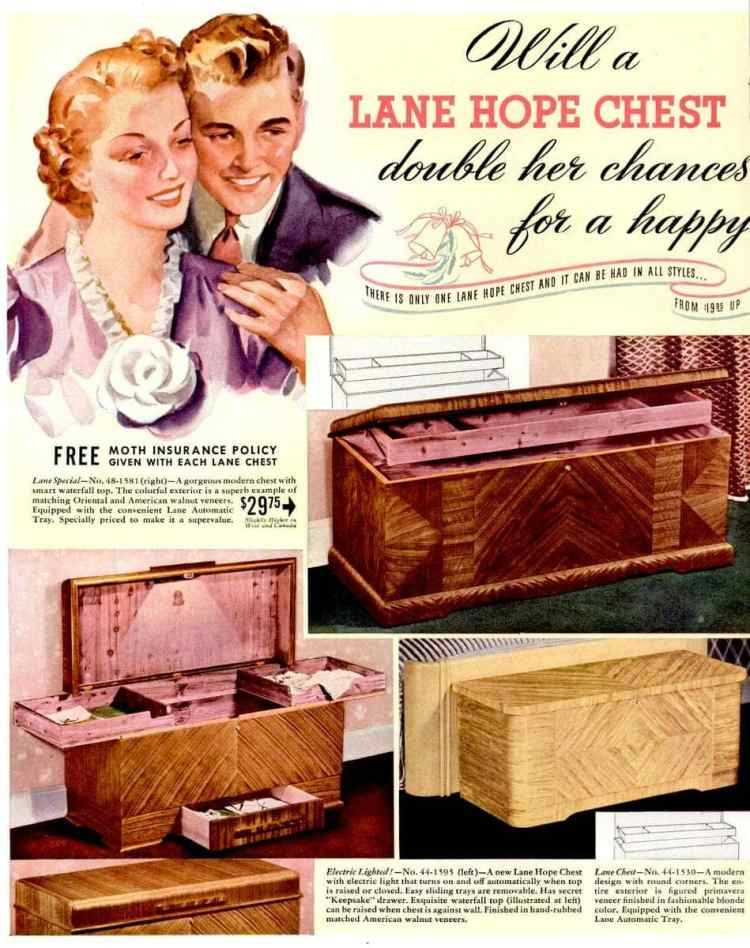 Dec 5, 1938 hope chest 1