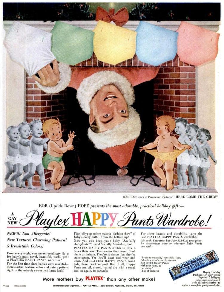 Dec 7, 1953 Bob Hope Happy Pants