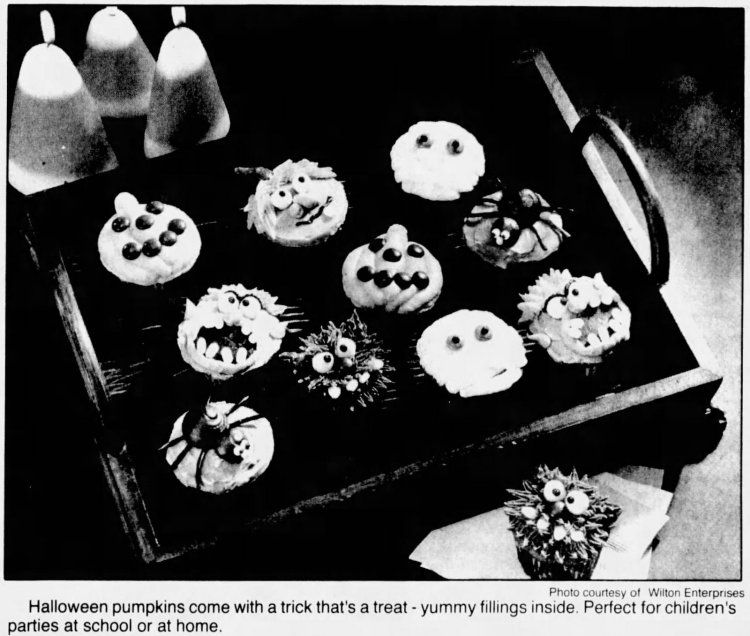 Decorating ideas for delicious Halloween cupcakes