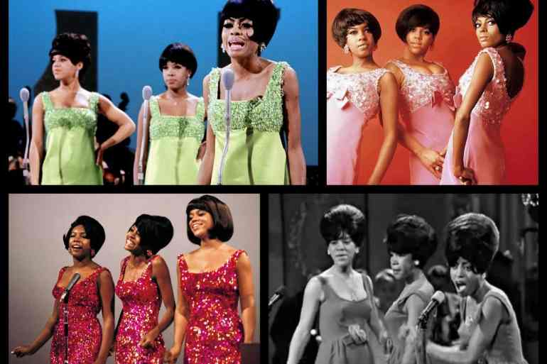 Diana Ross and The Supremes - mid 1960s