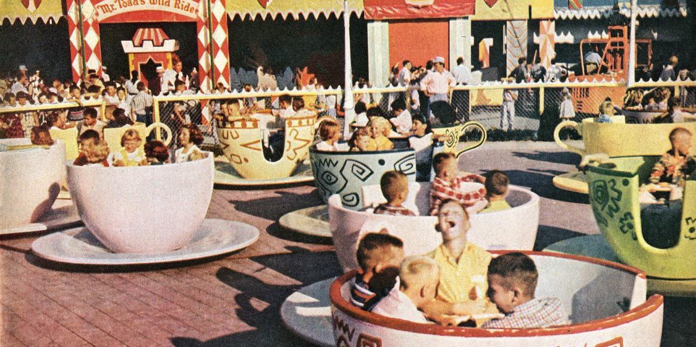 Disneyland opens - Walt Disney's magical new theme park in Southern California (1955)